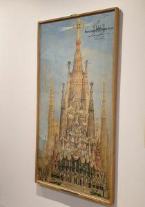De hoofdingang, Glorie gevel van de Sagrada Familia