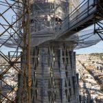 Construction on SagradaFamilia