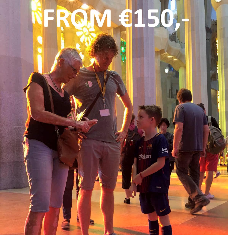 The Sagrada Familia private tour